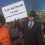 Jan 11 2010 Guantanamo Detainee's Attorney at White House protest