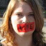 Gagged by &quot;Life&quot;