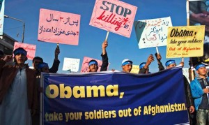 Afghanis Protest NATO Raid Killing Children & Civilians