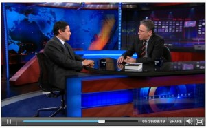 Torture law professor, John Yoo, on Jon Stewart's show