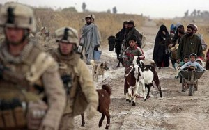 Afghans, Helmand Province, February 2010