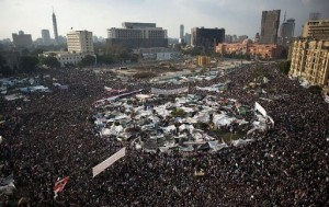 Tahrir Square, Cairo, January 2011