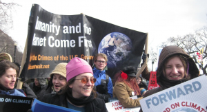 Marching in DC February 17: Humanity & the Planet Come First
