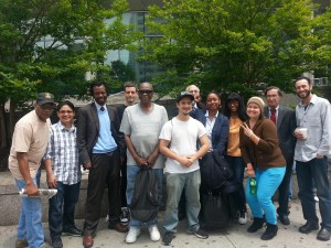 NOT Guilty in Queens. Stop-and-frisk defendants, attorneys and jurors