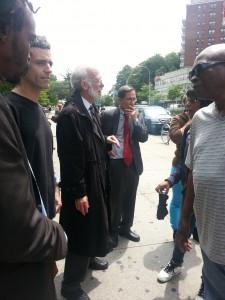 Mani Taferi, Greg Allen, Marty Stolar, Steve Silverblatt and jurors